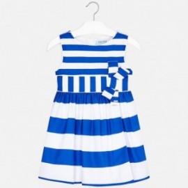 Mayoral 3924-43 Dívčí šaty modrá