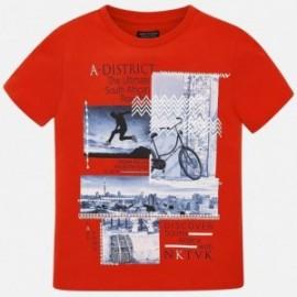 Mayoral 6048-55 tričko chlapci červená