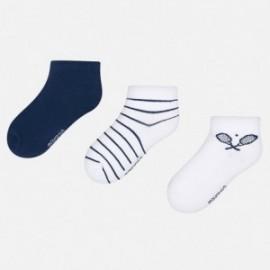 Mayoral 10573-47 Sada chlapčenských ponožek tmavě modrá