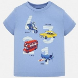 Mayoral 1021-47 tričko chlapecké modré