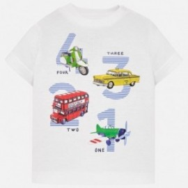 Mayoral 1021-46 tričko chlapci bílé barvy