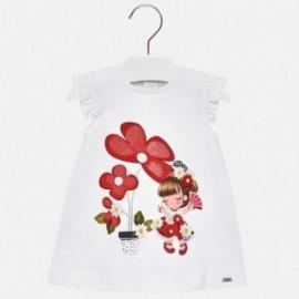 Mayoral 1932-89 Dívčí šaty bílé