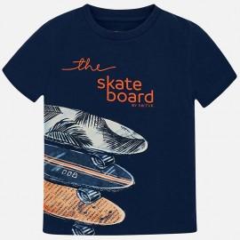 Mayoral 6038-97 Chlapecké tričko barvy tmavě modré