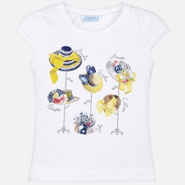 Mayoral 3013-16 Dívčí tričko barva žlutý
