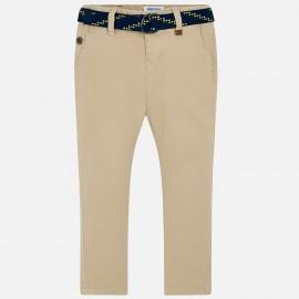 Mayoral 3516-60 Chlapčenské kalhoty barva béžová