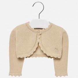 Mayoral 306-31 Dívčí svetr s pískovou barvou