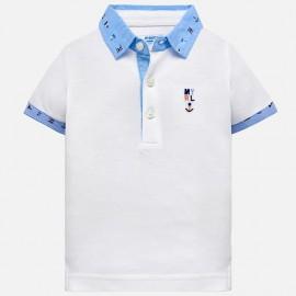 Mayoral 1114-51 Polo chlapci bílé barvy