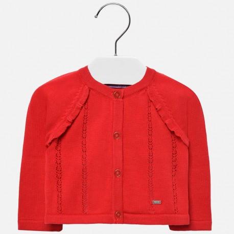 Mayoral 1309-68 Dívčí svetr červený