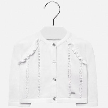 Mayoral 1309-67 Dívčí svetr barva bílá