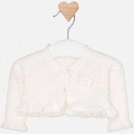 Mayoral 1302-45 Dívčí svetr krémová barva