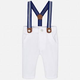 Mayoral 1512-50 kalhoty chlapci bílé barvy