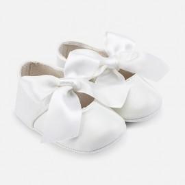 Mayoral 9091-34 boty dívčí bílé barvy