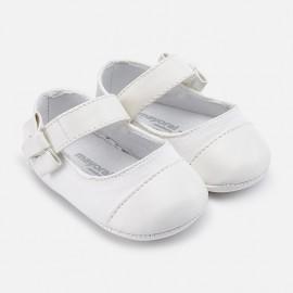 Mayoral 9119-70 Dívčí boty bílé barvy