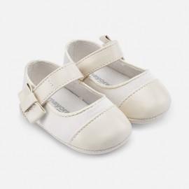 Mayoral 9119-72 Dívčí boty krémová barva