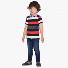 Mayoral 3515-83 Chlapčenské kalhoty džíny barva námořnictva