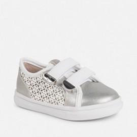Mayoral 41010-37 Bílé dívčí sportovní obuv