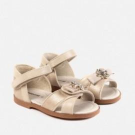 Mayoral 41024-74 Dívčí sandále zlato