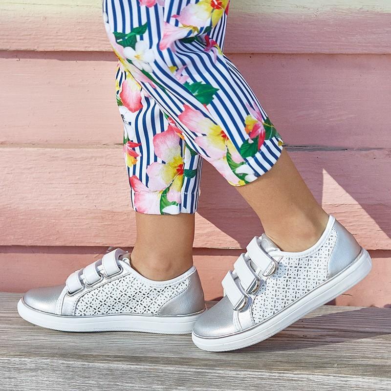 Mayoral 43011-45 Dívčí bílá sportovní obuv