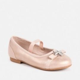 Mayoral 45029-85 Dívčí baleríny růžové