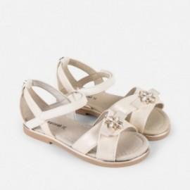 Mayoral 45043-32 Dívčí perlový sandál