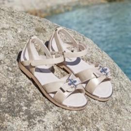 Mayoral 45043-31 Zlaté dívčí sandály