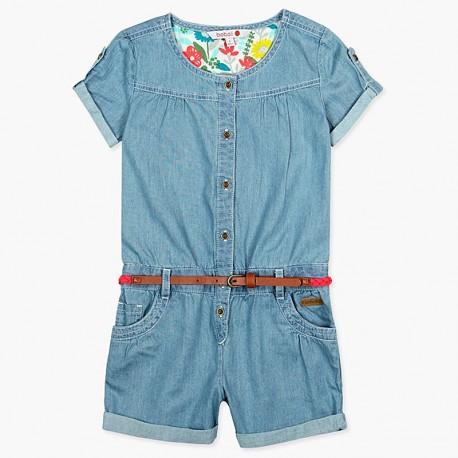 Boboli džínové kombinézy pro dívky modrá 407012-BLEACH