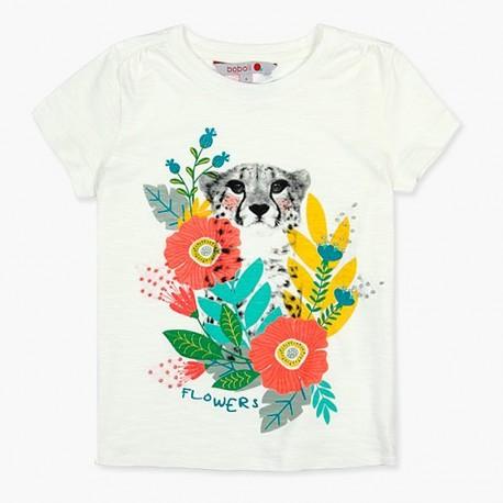 Boboli tričko pro dívky bílá 407113-1111