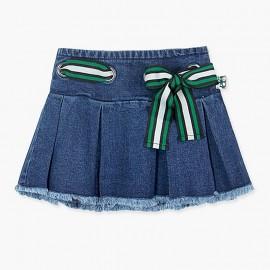 Boboli sukně džíny pro dívky modrá 417080-BLUE