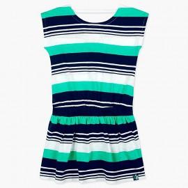 Boboli pruhované šaty pro dívky 417158-9055
