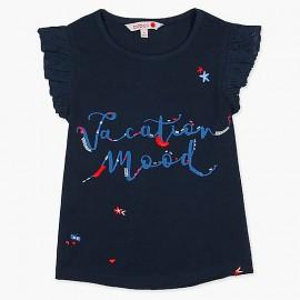 Boboli košile pro dívky námořní 437048-2440