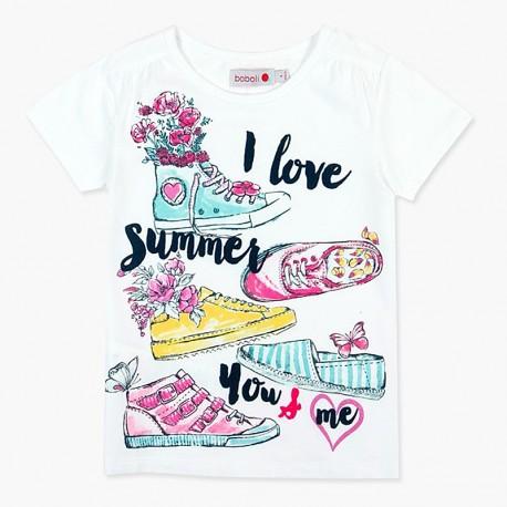 Boboli košile pro dívky bílá 457028-1100