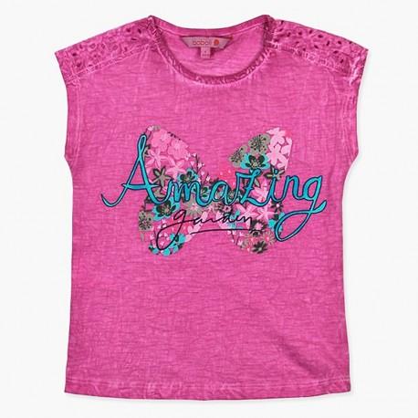 Boboli tričko pro dívky fialová 457118-3635