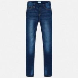 Mayoral 554-66 Dívčí kalhoty džínové barvy