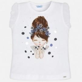 Mayoral 3008-92 Dívčí košile barva granát