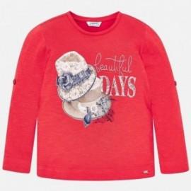 Mayoral 3016-75 Dívčí košile barva malina