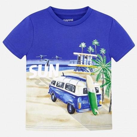 Mayoral 3035-74 Chlapec košile barva moře