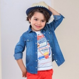 Mayoral 3144-36 košile chlapci barva džíny
