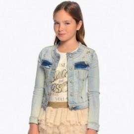 Mayoral 6409-34 Dívčí bunda světle modrá