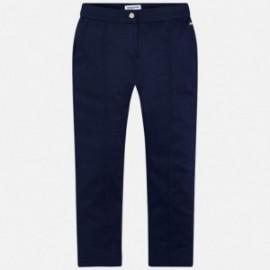 Mayoral 6508-88 kalhoty dívčí námořní modř