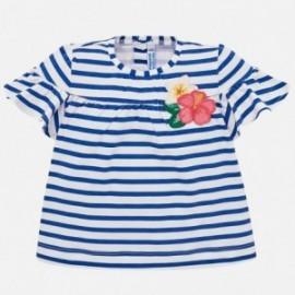 Mayoral 1011-28 Dívčí tričko barva modrý