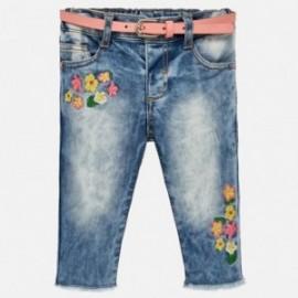 Mayoral 1516-62 Dívčí kalhoty barevné džíny