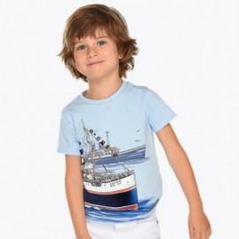Mayoral 3024-73 Chlapecká košile barva modrý
