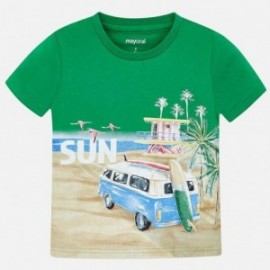 Mayoral 3035-72 Chlapec košile trávnaté barvy