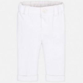 Mayoral 1511-30 Chlapčenské kalhoty barva bílá