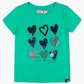 Boboli tričko pro dívky zelené 417125-4455