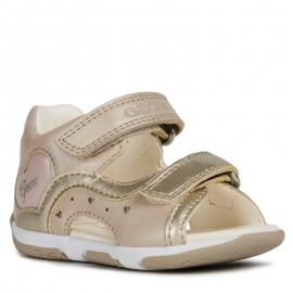Geox sandály pro dívky béžové B920YC-044AJ-C0303