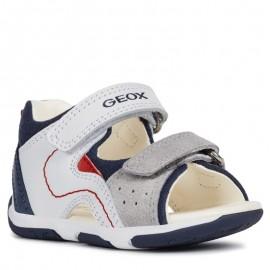 Geox sandály pro chlapce bílá B920XB-08522-C0899