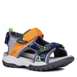 Geox sandály pro chlapce šedá J920RA-05415-C1040