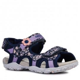 Geox dívčí sandály námořní modrá J92D9C-015CE-C4002