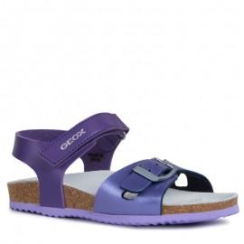 Geox dívčí sandály na dopravní zácpě fuchsie J921CD-054AJ-CG8N8